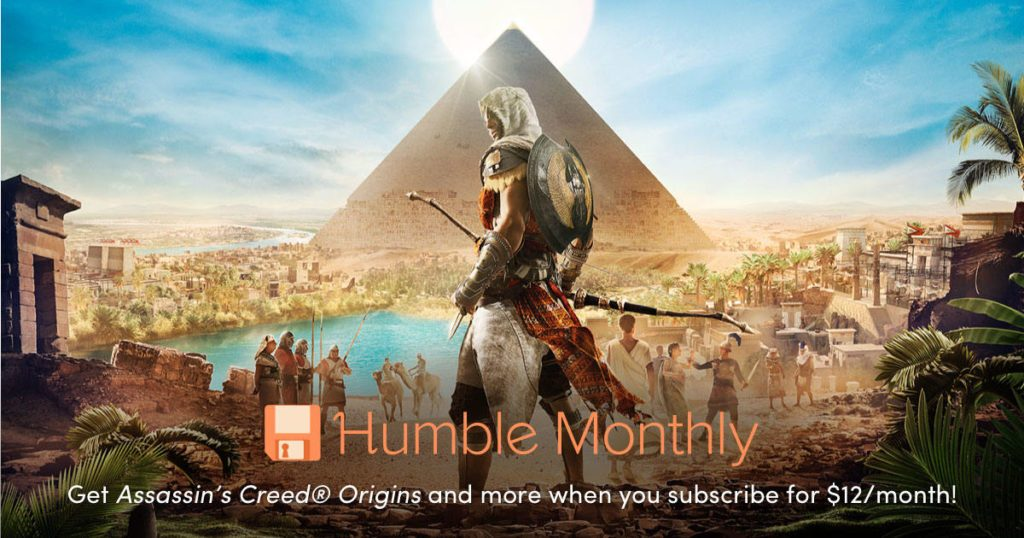 Humble Bundle Monthly Early Unlock May 2019 Assassins Creed Origins 03