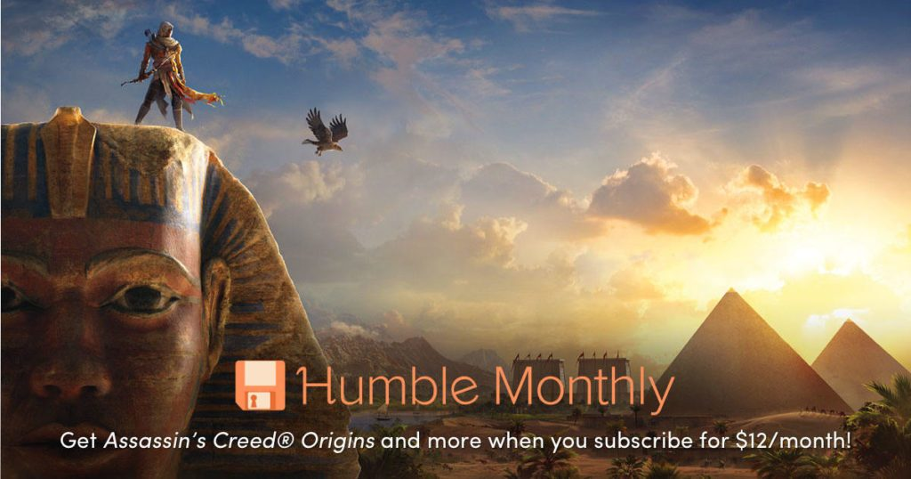 Humble Bundle Monthly Early Unlock May 2019 Assassins Creed Origins 04