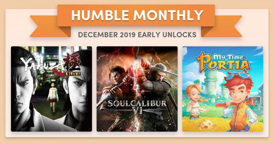 Humble Bundle Early Unlock December 2019 Featured