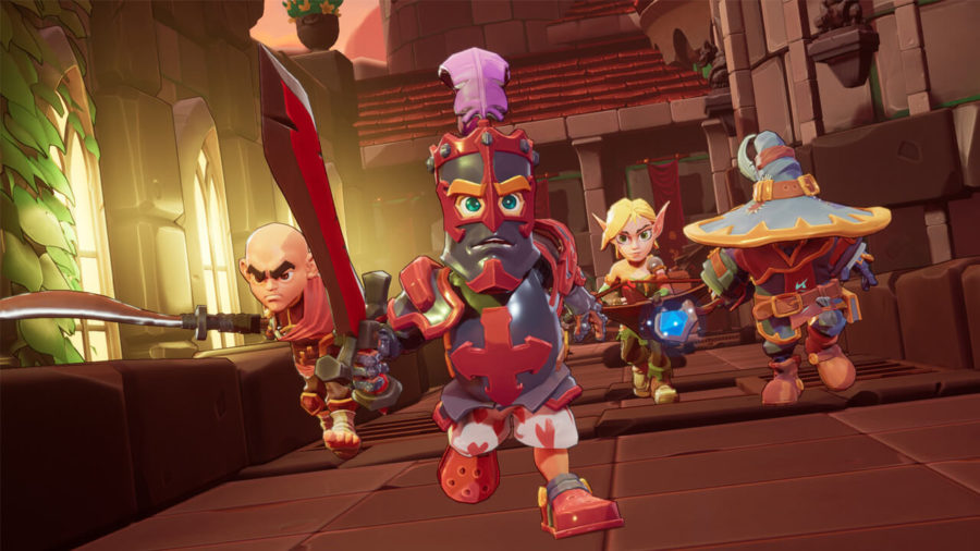 Dungeon Defenders Awakened Early Access Screenshot 01