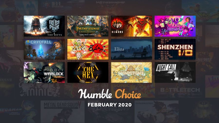 February 2020 Humble Choice Featured