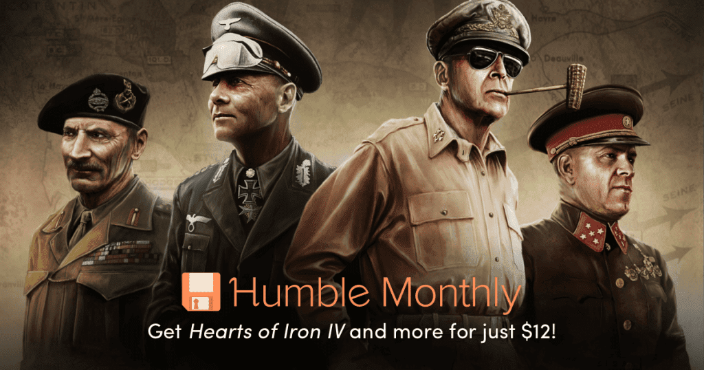 July 2018 Humble Monthly Hearts of Iron IV