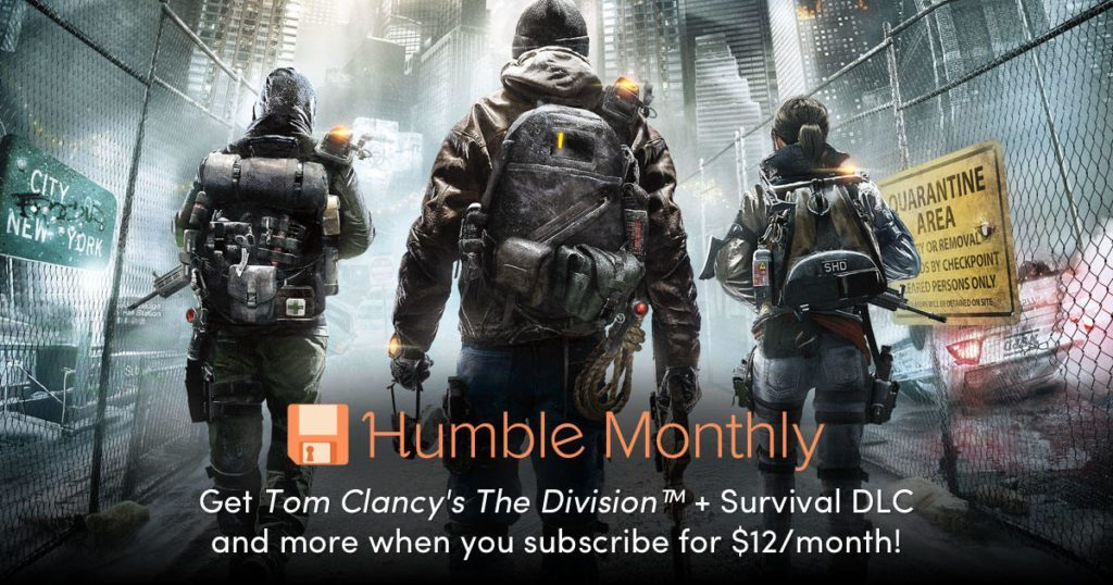 Humble Bundle Monthly February 2019 Early Unlock The Division