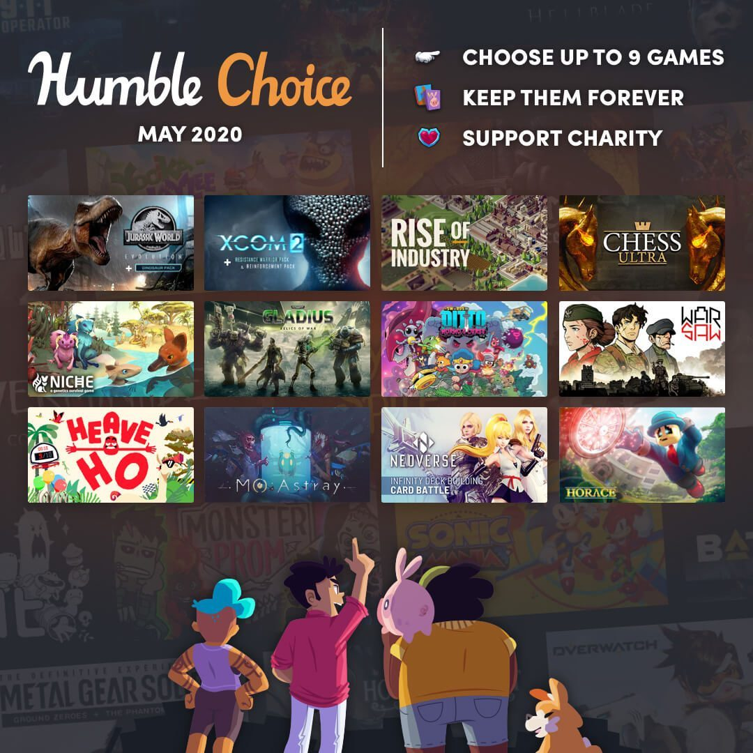 Humble Choice May 2020 Sidebar