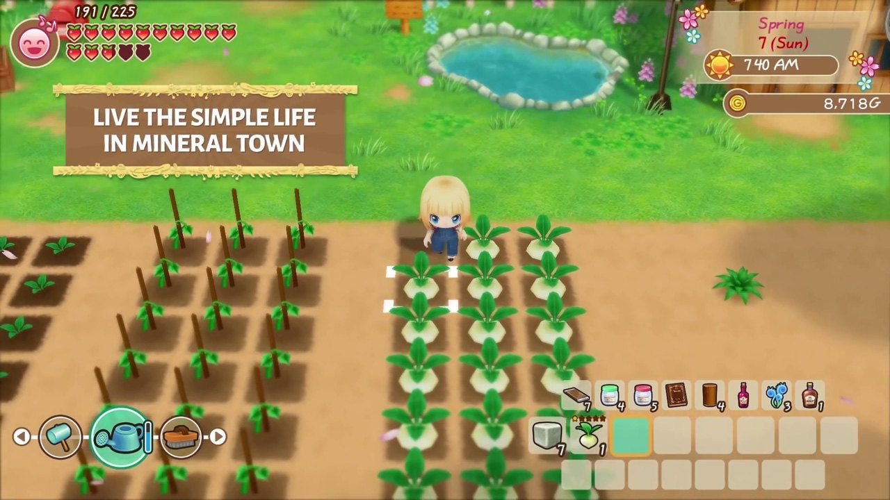 STORY OF SEASONS Friends of Mineral Town Screenshot 01