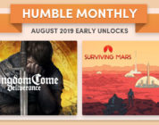 Humble Bundle Early Unlock August 2019 Kingdom Come Deliverance and Surviving Mars