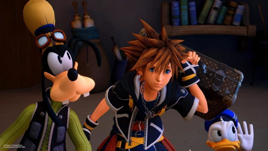 KH3 Sora Donald and Goofy