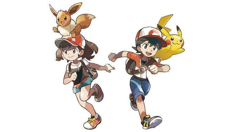 Pokemon Let's Go Main Characters