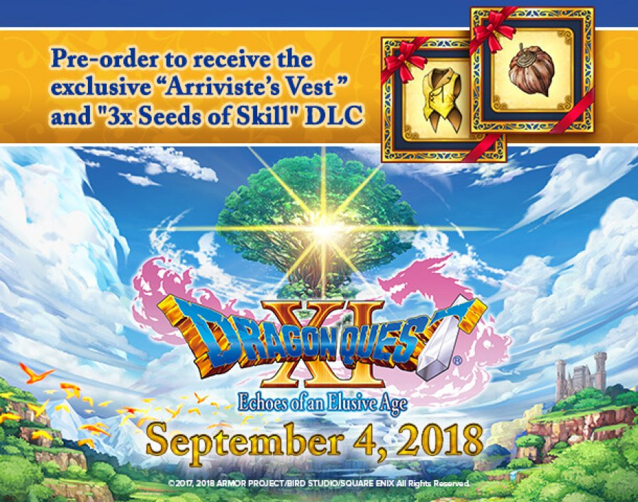 Dragon Quest XI Pre Order Featured