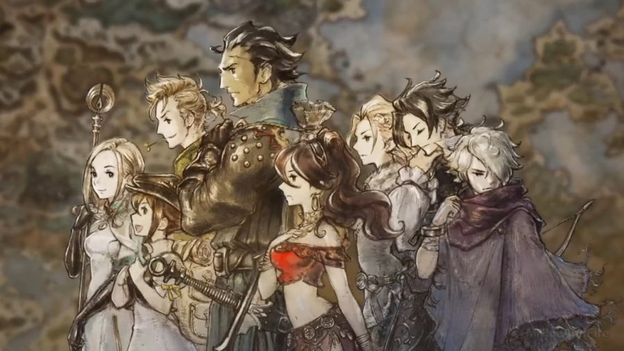 Octopath Traveller Character Art