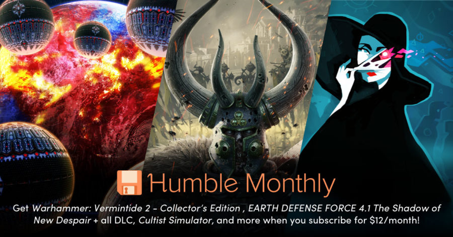 Humble Bundle Monthly Early Unlock March 2019