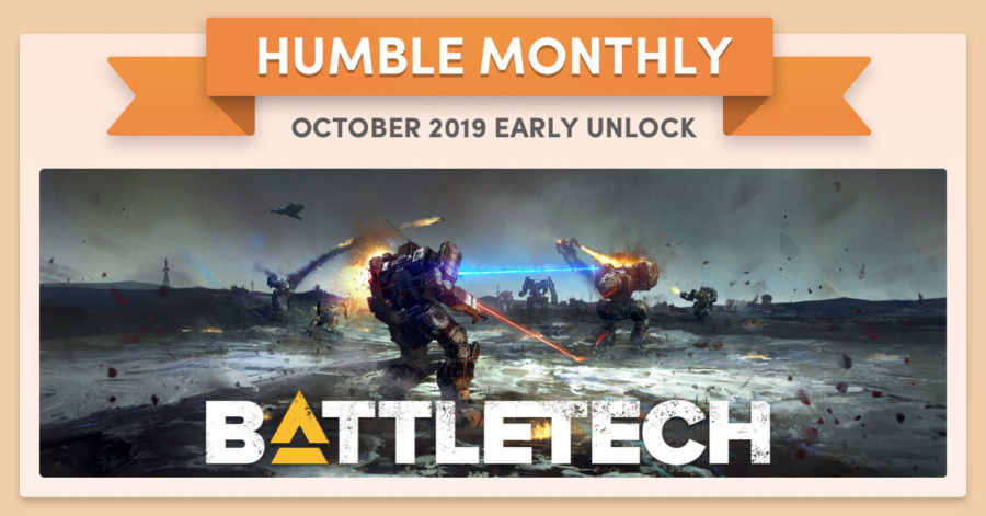 Humble Bundle Early Unlock October 2019 Battletech 2